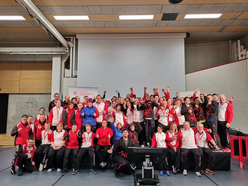 Team Switzerland von Special Olympics im Trainingscamp in Tenero