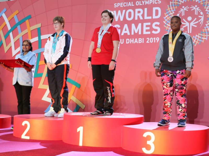 De formidables sportifs suisses aux World Games Abu Dhabi 2019